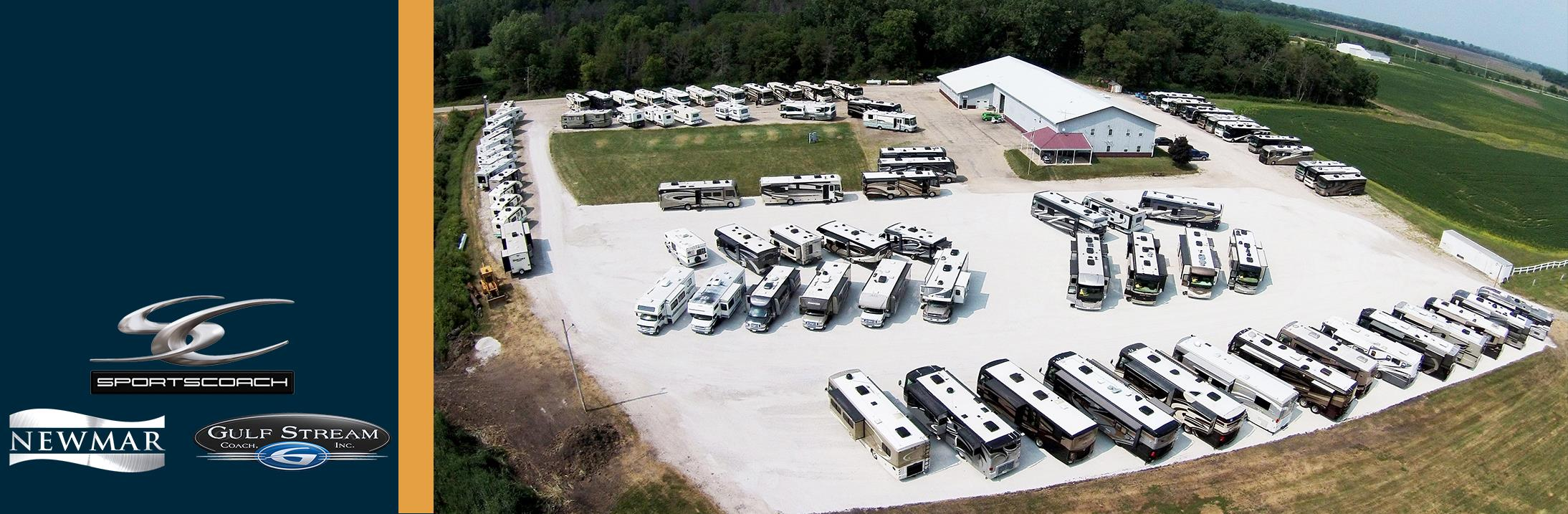 Active and Sold Inventory of RV's and campers at Shabbona Creek RV